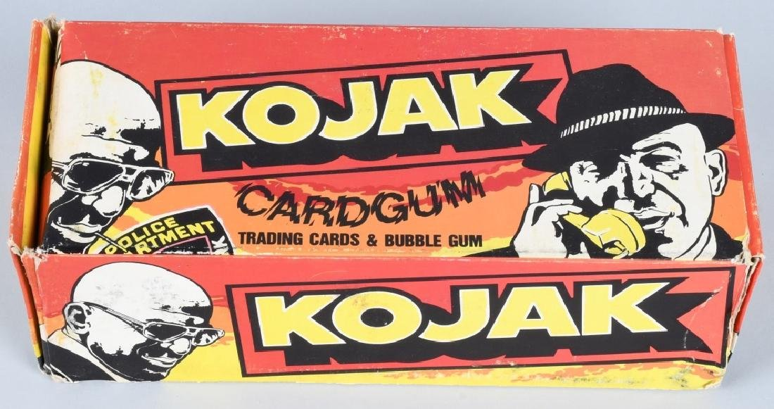 KOJAK WAX BOX BY HOLLAND 1975 UNOPENED BOX