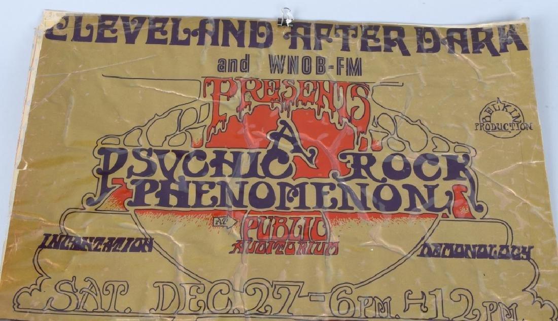 1960s PSYCHIC ROCK PHENOMENON CONCERT POSTER - 2