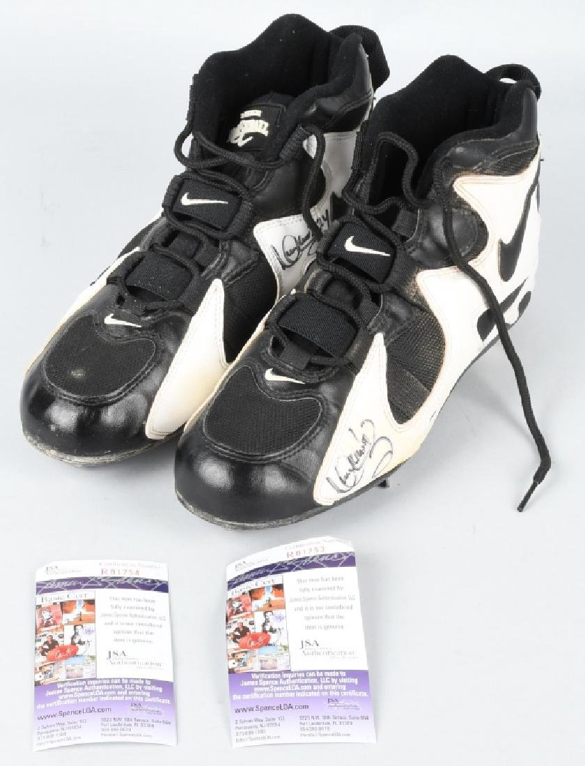 MANNY RAMIREZ NIKE AIR GAME USED SHOES
