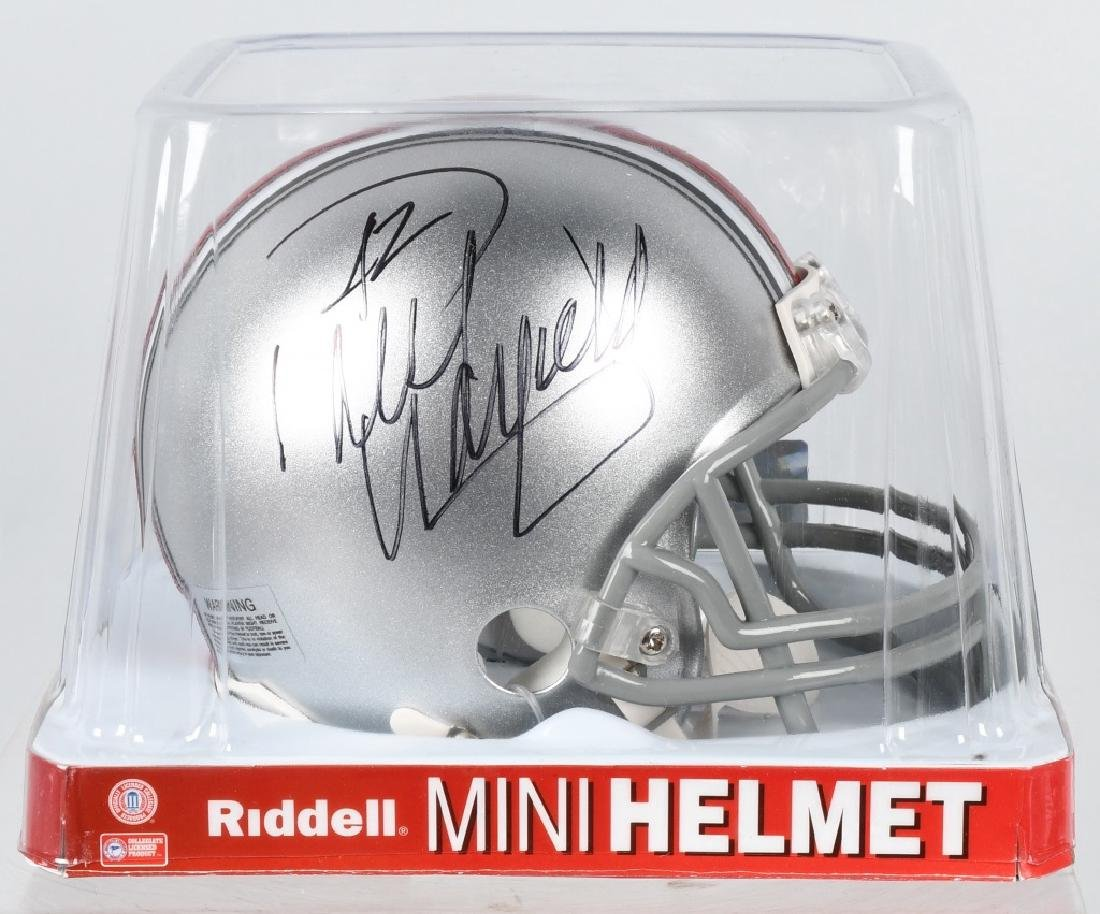 PAUL WARFIELD SIGNED OSU FOOTBALL MINI-HELMET