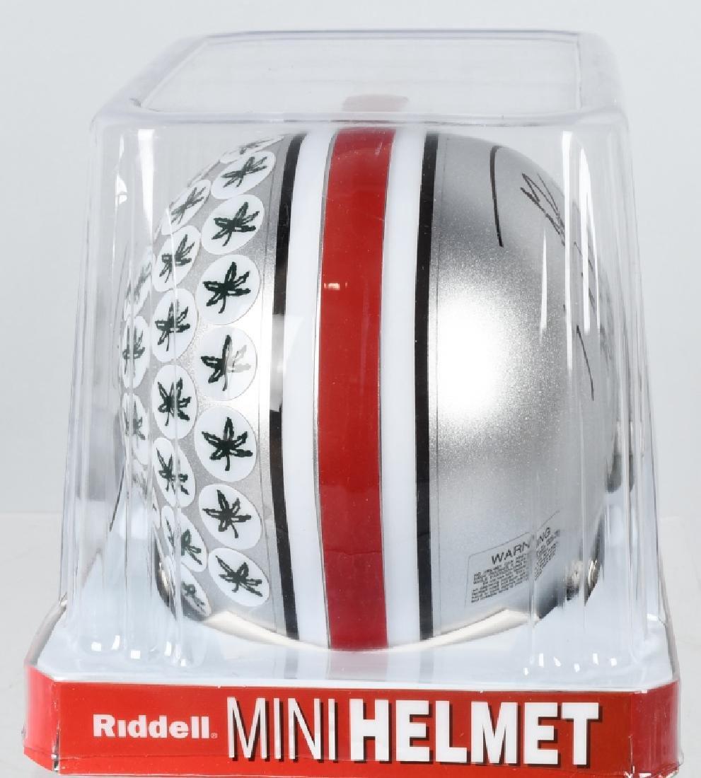 PAUL WARFIELD SIGNED OSU FOOTBALL MINI-HELMET - 4