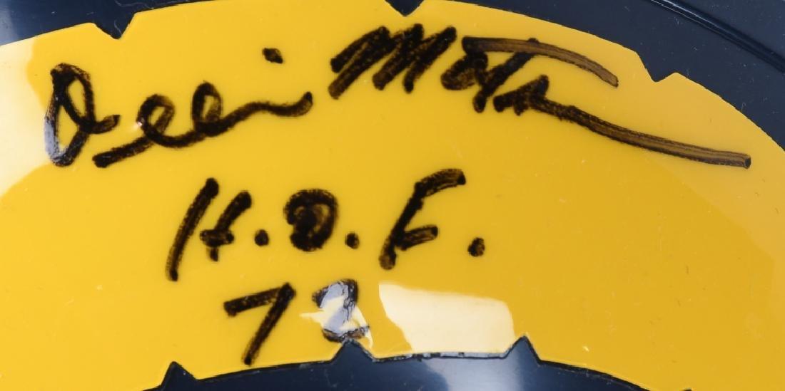 OLLIE MATSON SIGNED LOS ANGELES RAMS MINI HELMET - 2