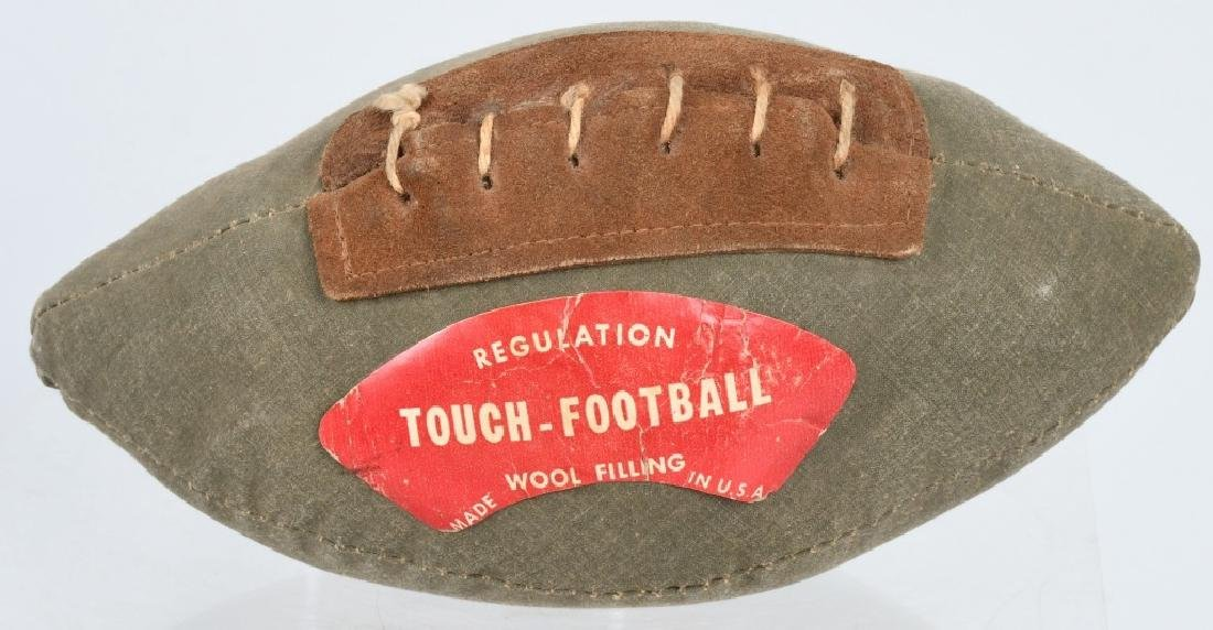 1930S MINT CONDITION REGULATION TOUCH FOOTBALL