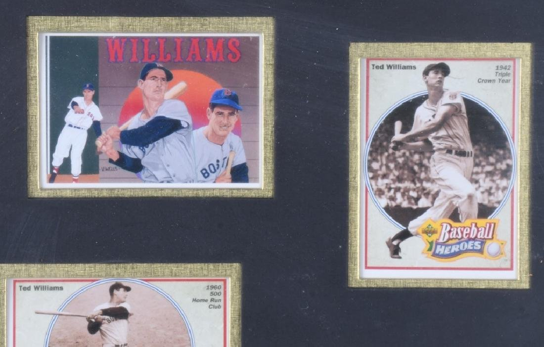 TED WILLIAMS, LIMITED EDITION GOLD HOLOGRAM - 2
