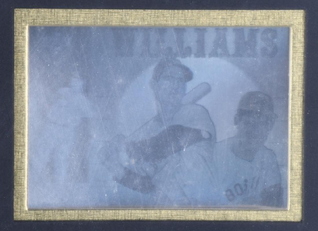TED WILLIAMS, LIMITED EDITION GOLD HOLOGRAM - 4