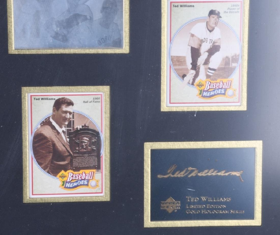 TED WILLIAMS, LIMITED EDITION GOLD HOLOGRAM - 5