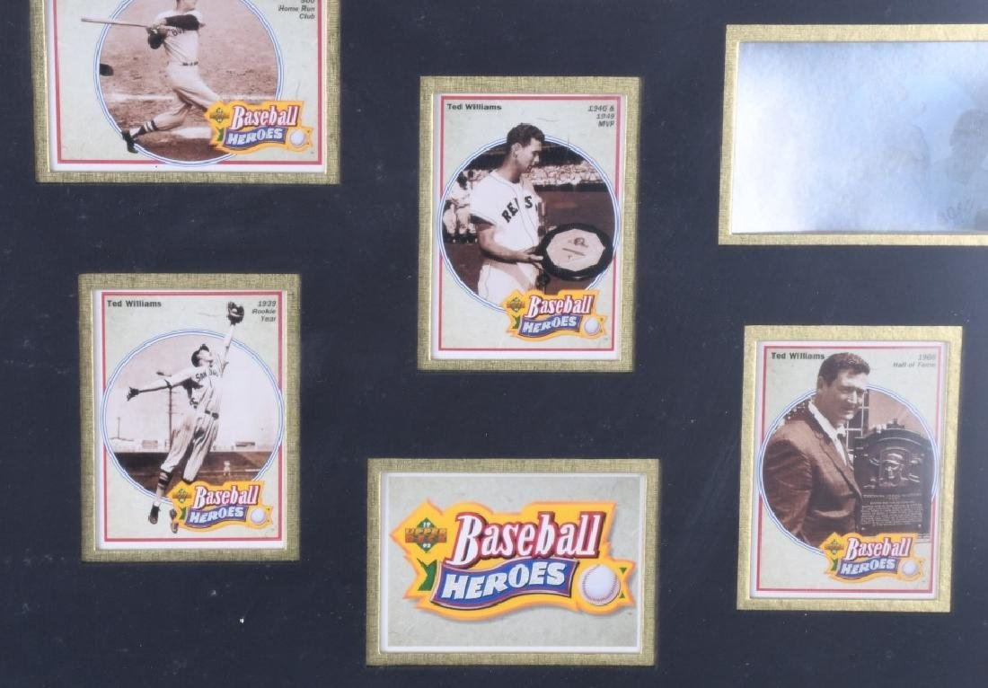 TED WILLIAMS, LIMITED EDITION GOLD HOLOGRAM - 6