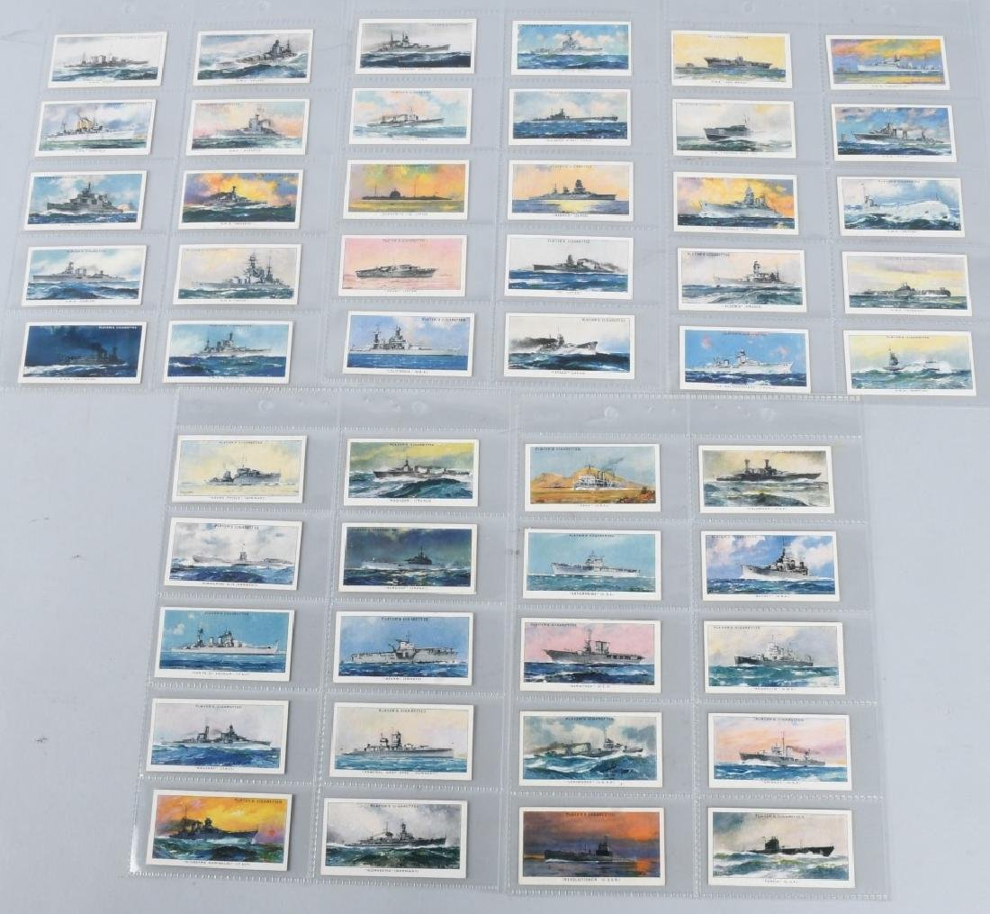 NAVAL CRAFT 1939 CIGARETTE CARDS (PLAYER)