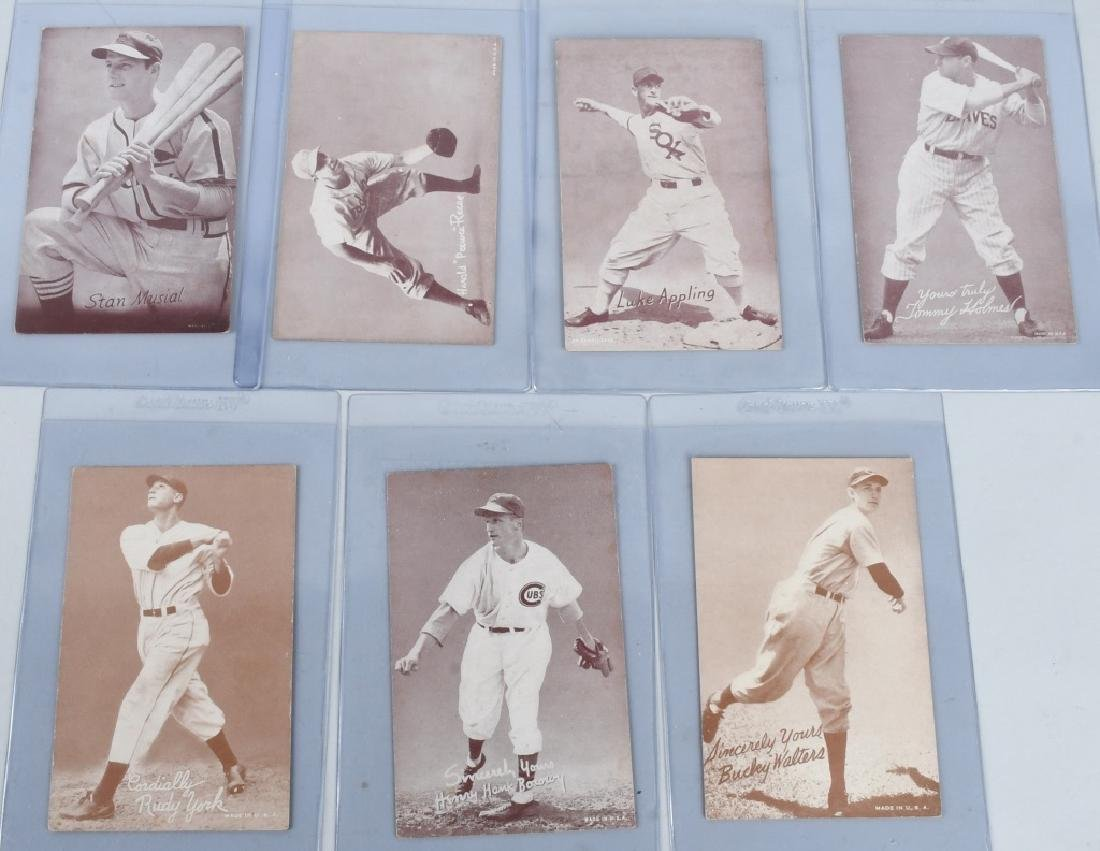 1936-39 EXHIBIT BASEBALL CARDS