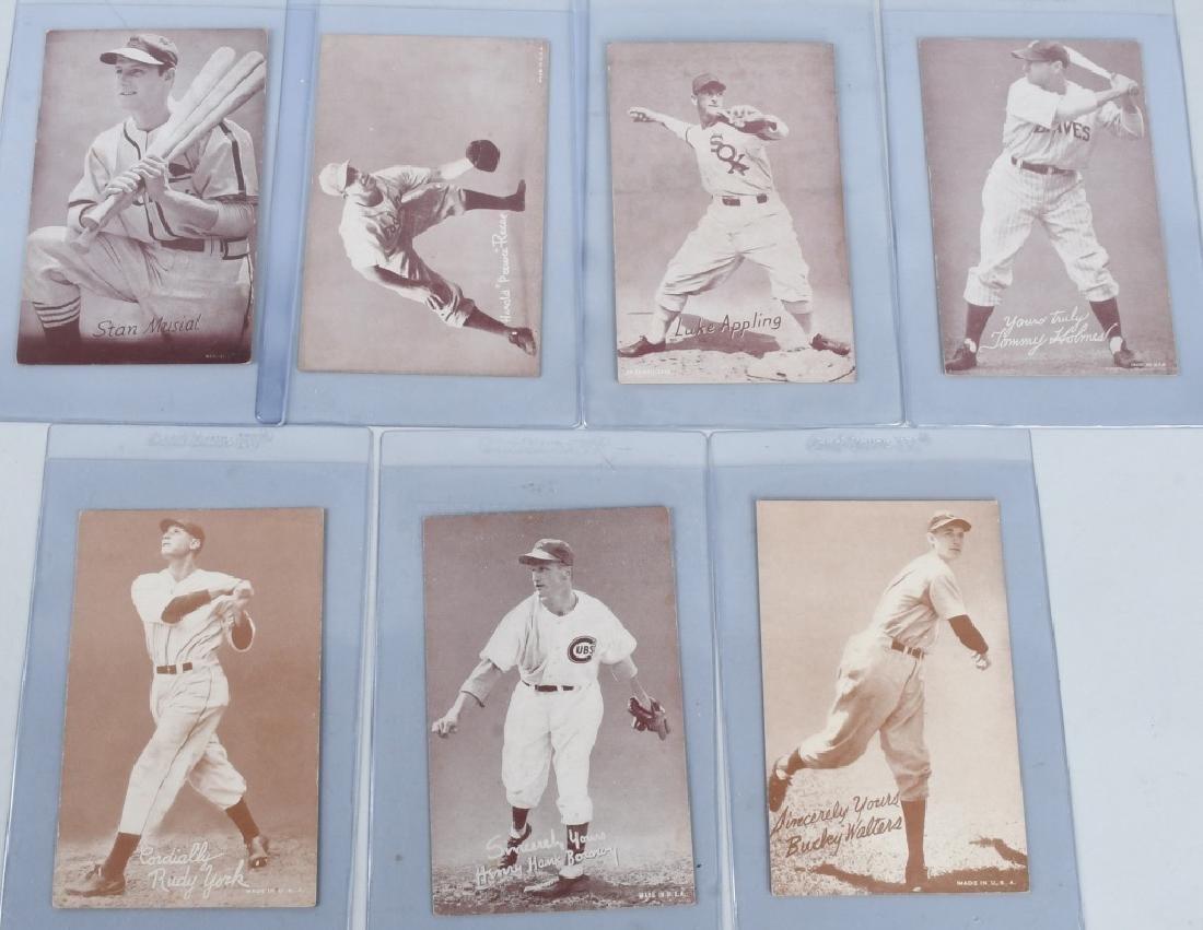 1936-39 EXHIBIT BASEBALL CARDS