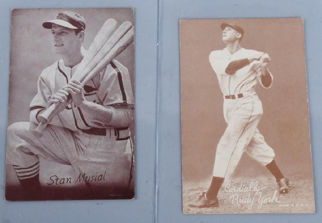 1936-39 EXHIBIT BASEBALL CARDS - 2