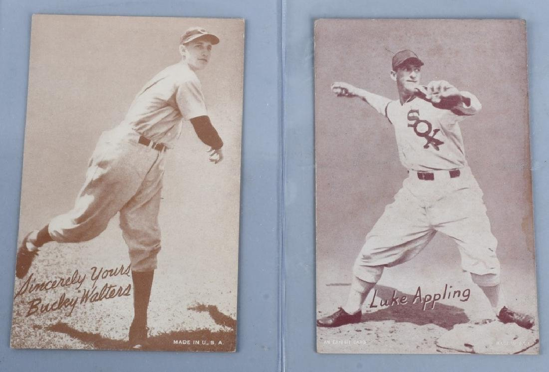 1936-39 EXHIBIT BASEBALL CARDS - 3