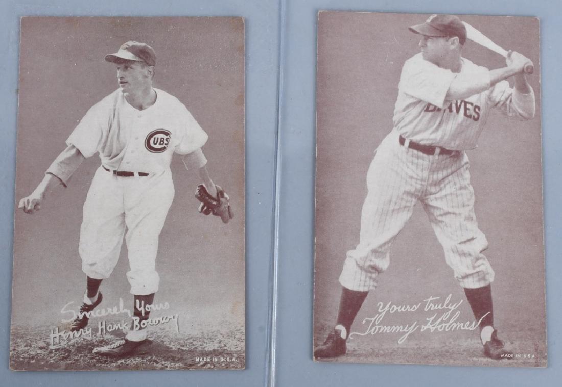 1936-39 EXHIBIT BASEBALL CARDS - 4