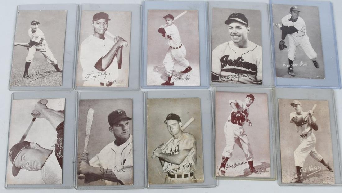 1947-1966 EXHIBIT CARD LOT