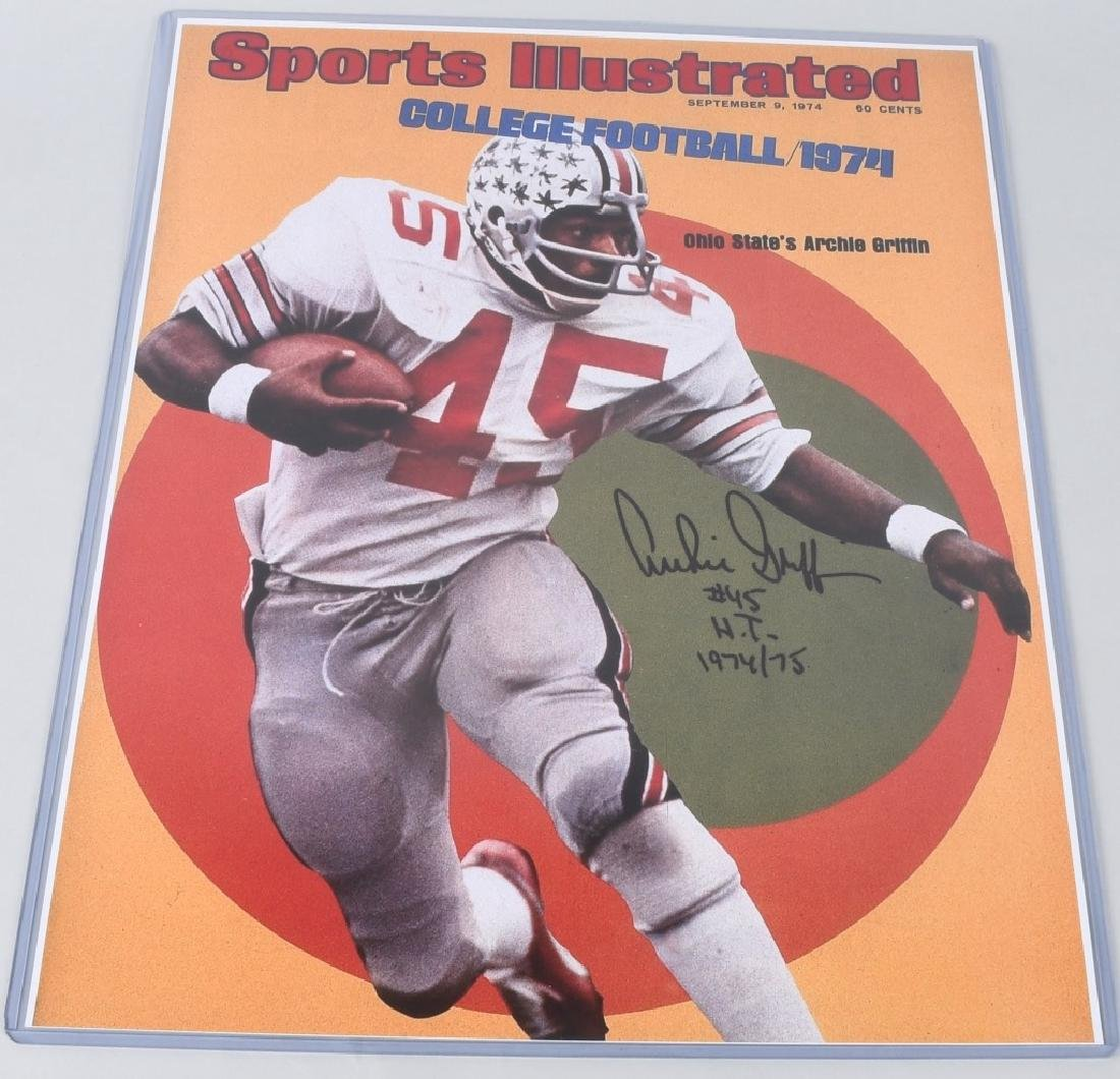 ARCHIE GRIFFIN OSU FOOTBALL 16X20 ACTION PHOTO