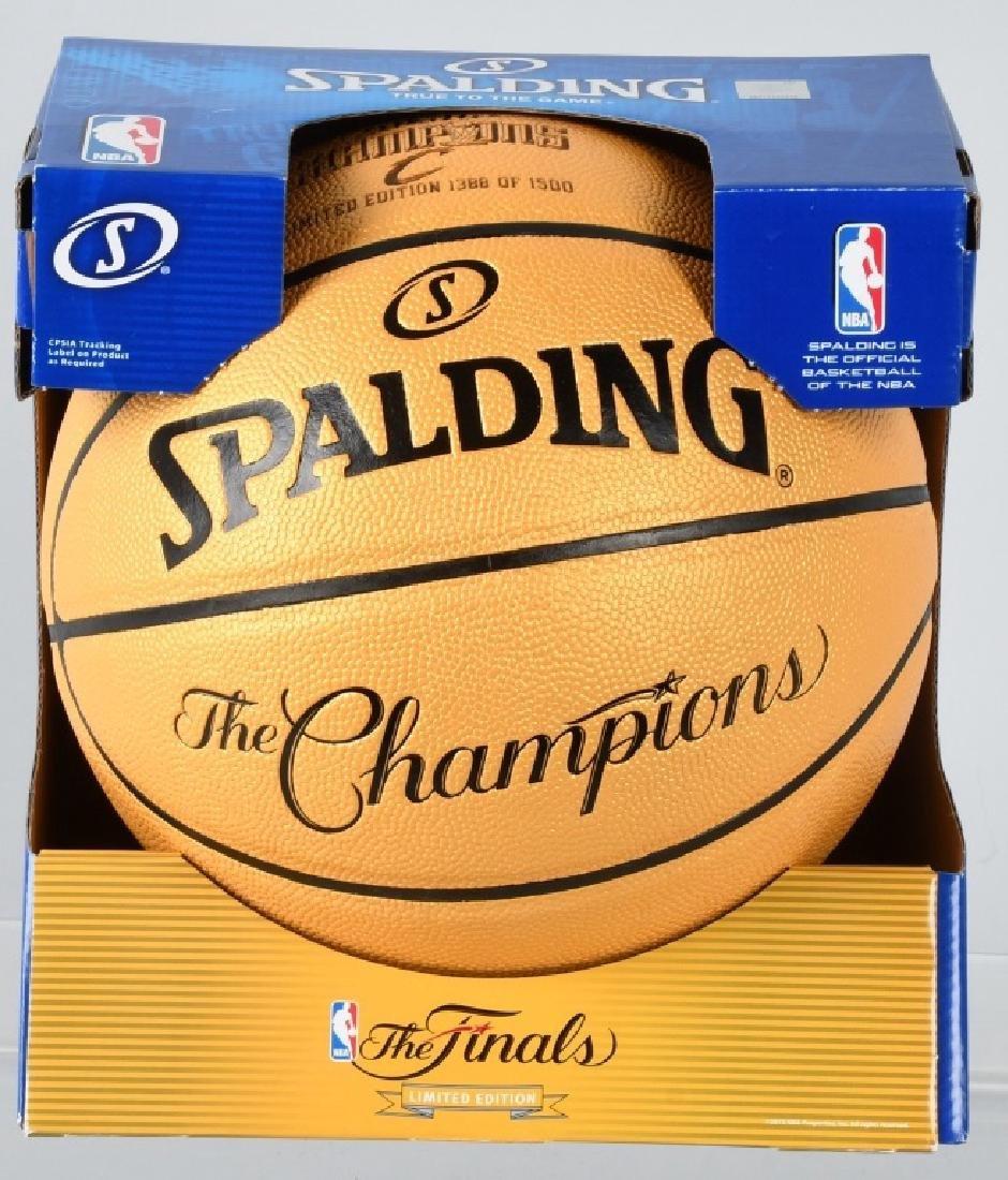 CLEVELAND CAVALIERS 2016 NBA CHAMPIONS BASKETBALL