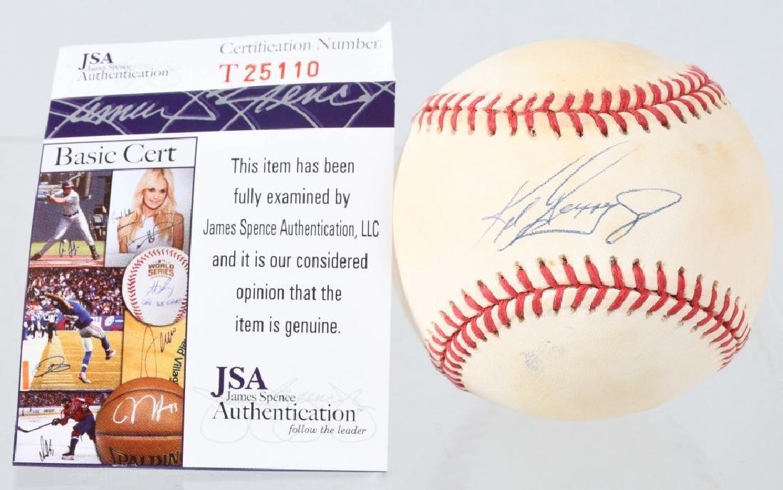 KEN GRIFFEY JR. MLB BALL /BOBBY BROWN BALL