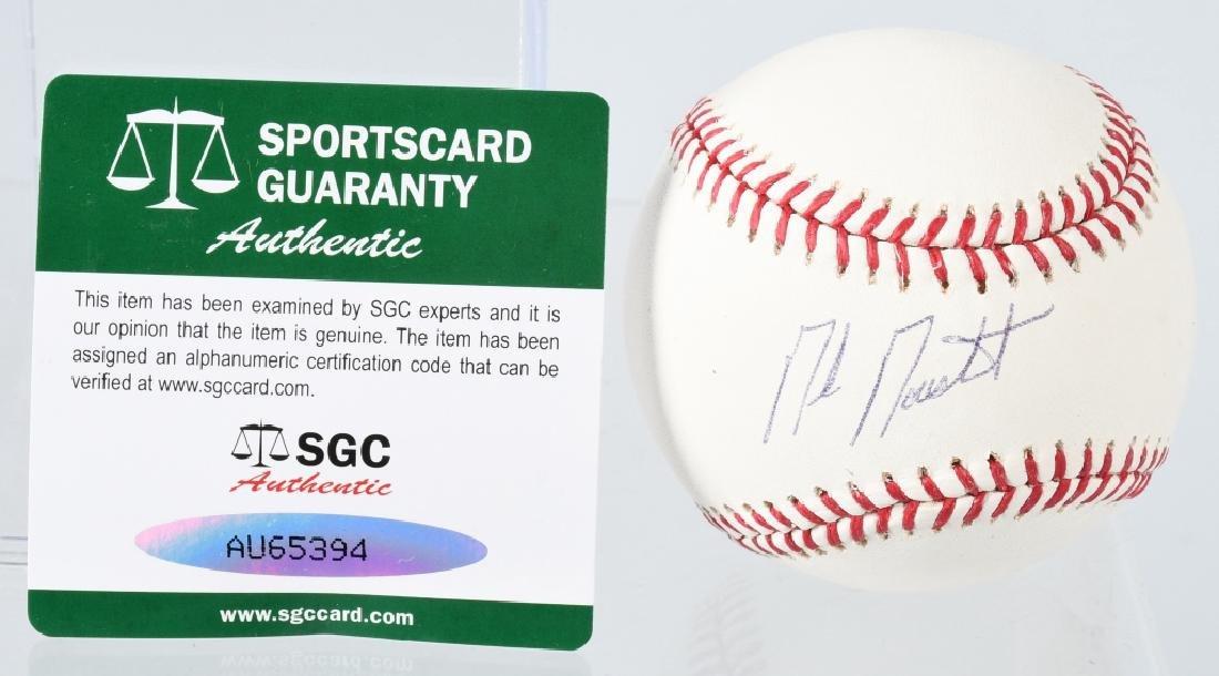 MIKE MOUSTAKAS SIGNED MLB BASEBALL