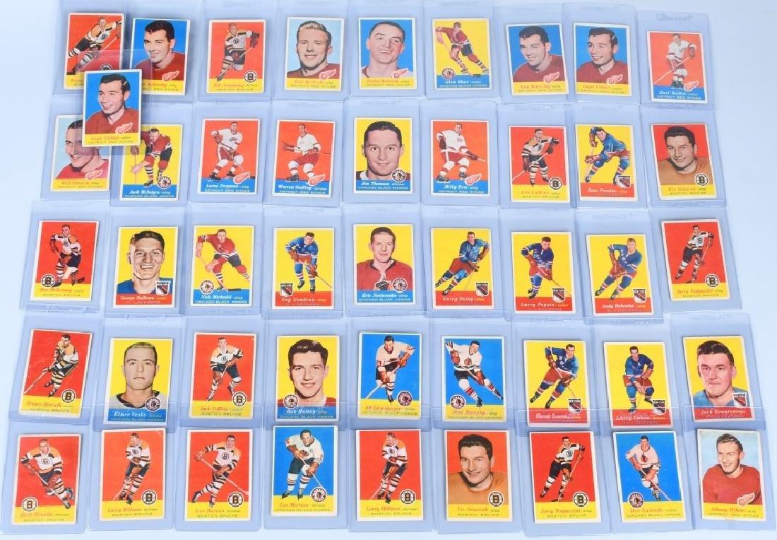 46- 1957 TOPPS HOCKEY CARDS