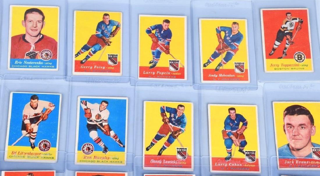 46- 1957 TOPPS HOCKEY CARDS - 3