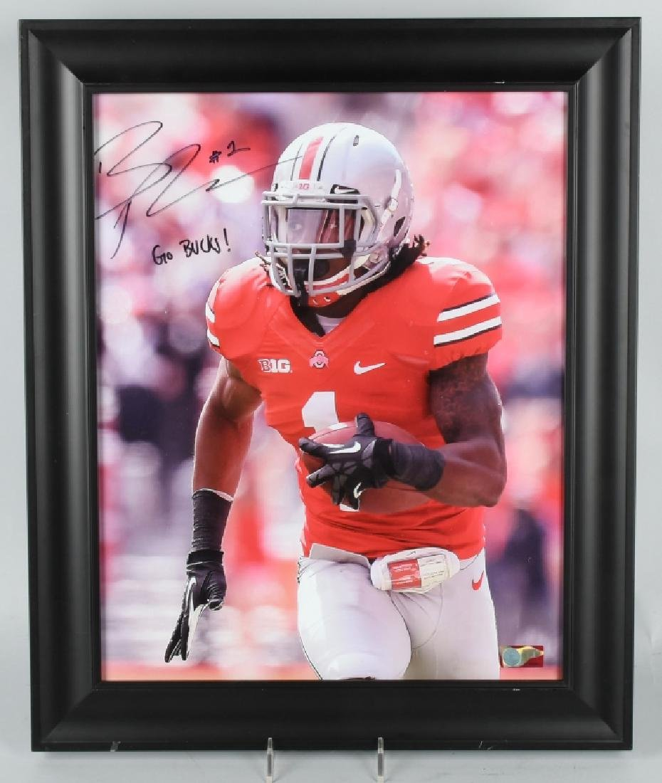 ARCHIE GRIFFIN OSU FOOTBALL STAR SIGNED 3D PHOTO