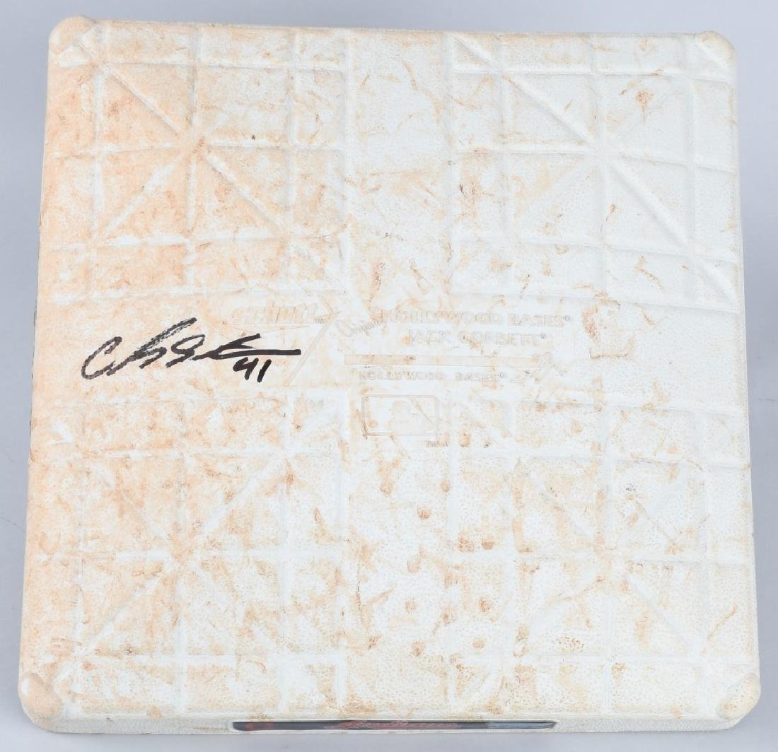 CLEVELAND INDIANS GAME USED HOME PLATE