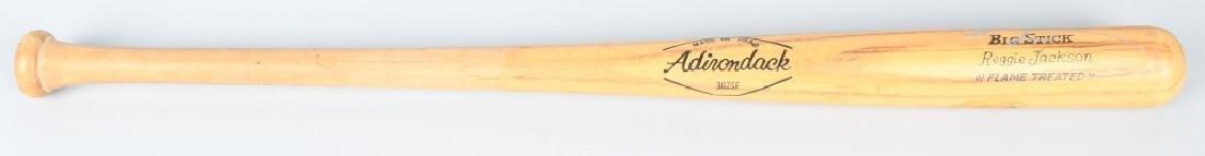REGGIE JACKSON SIGNED ADRIONDACK BASEBALL BAT