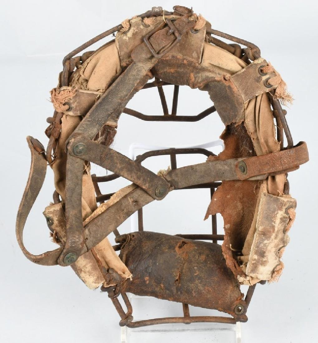 EARLY 1900s SPIDER STYLE CATCHERS MASK - 4