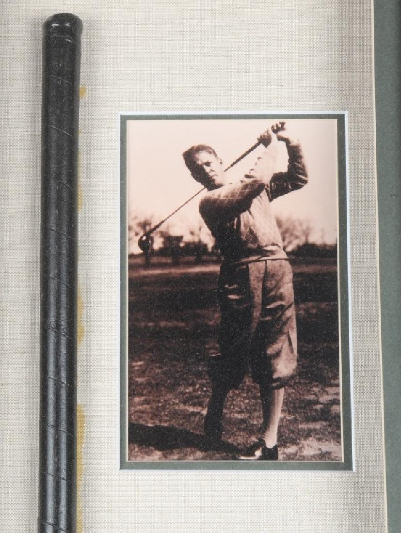 BOBBY JONES JR GOLF CLUB DISPLAY - 2