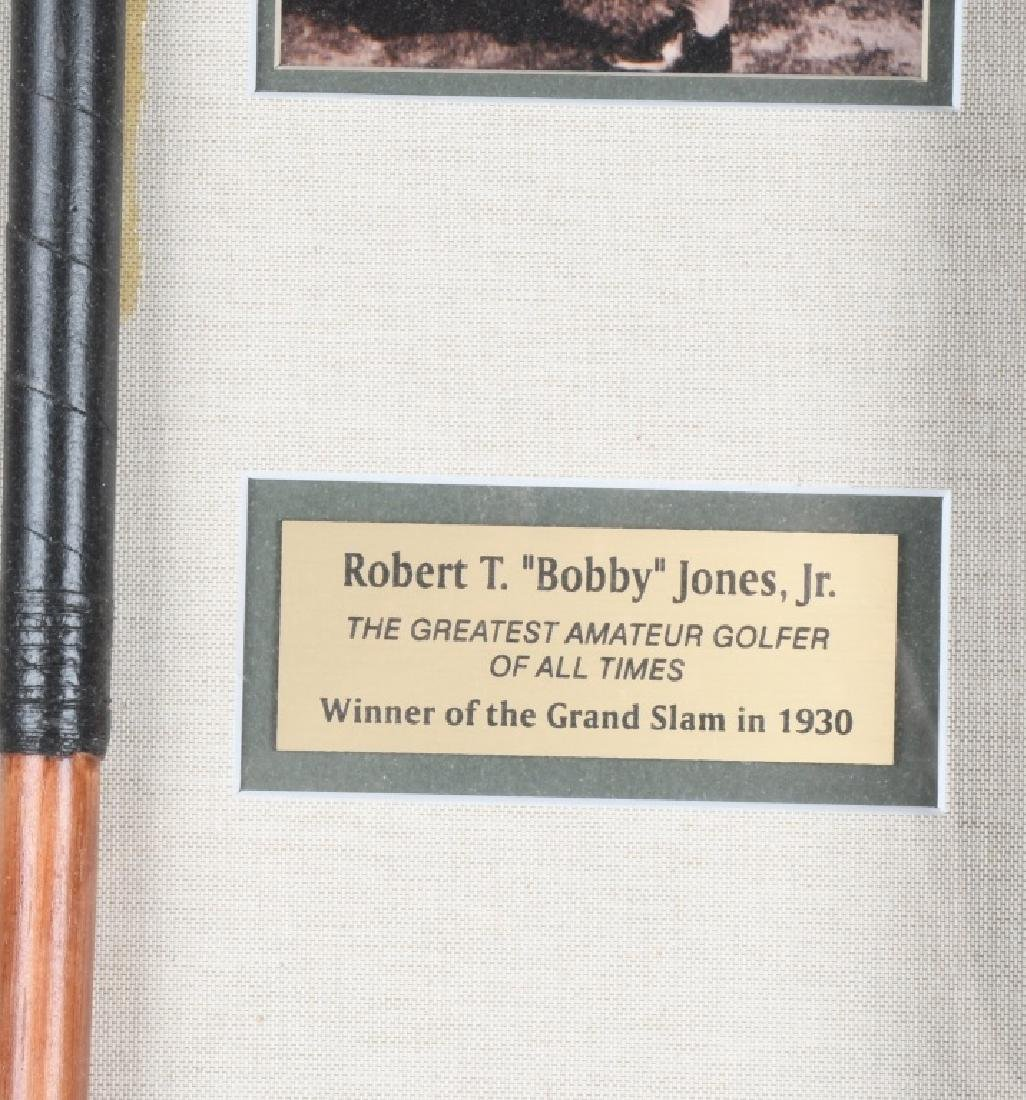 BOBBY JONES JR GOLF CLUB DISPLAY - 3