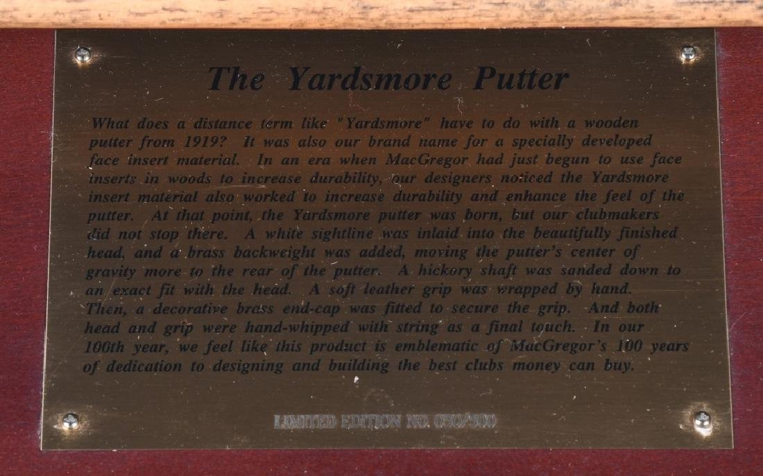 MacGregor YARDSMORE PUTTER DISPLAU 050/500 - 2