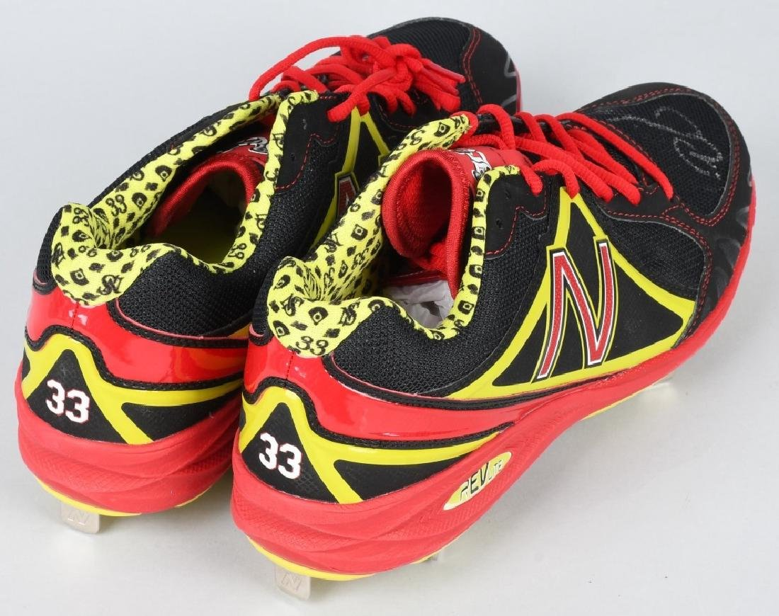 NICK SWISHER AUTOGRAPHED CLEATS - 3