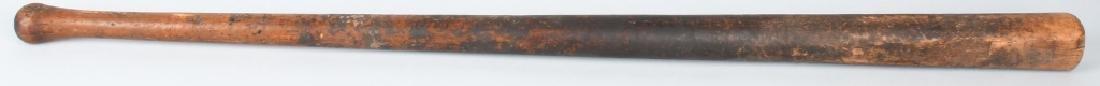 LATE 1800s MUSHROOM HANDLE BASEBALL BAT