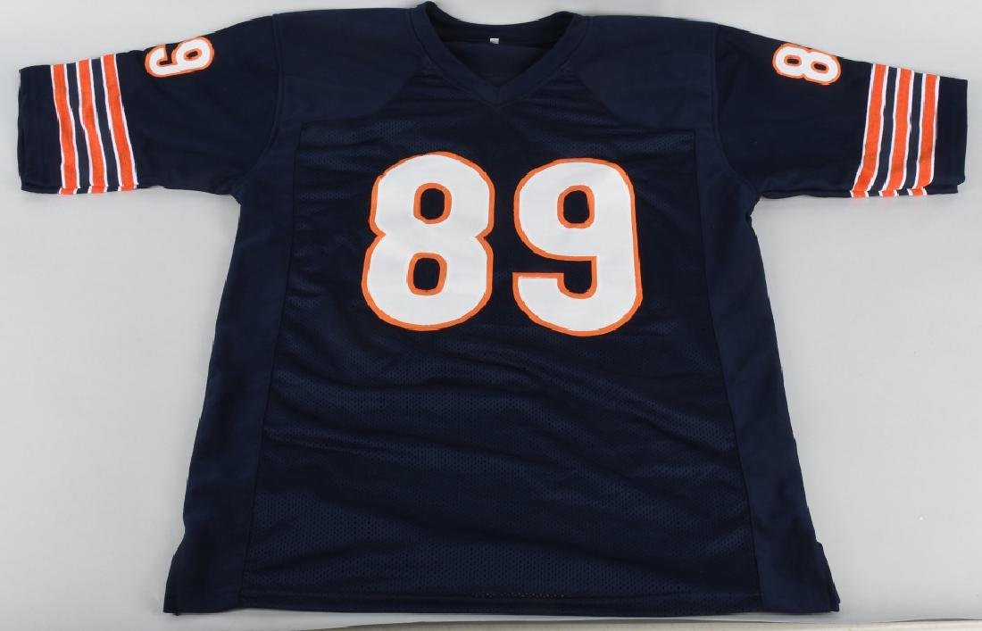 CHICAGO BEAR MIKE DITKA AUTOGRAPHED JERSEY COA - 4