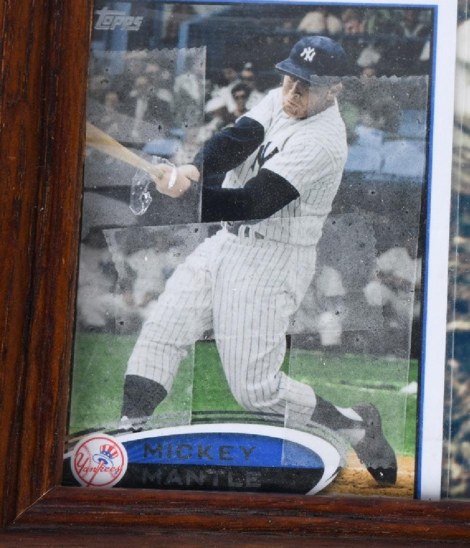 MICKEY MANTLE AUTOGRAPHED PICTURE - 3