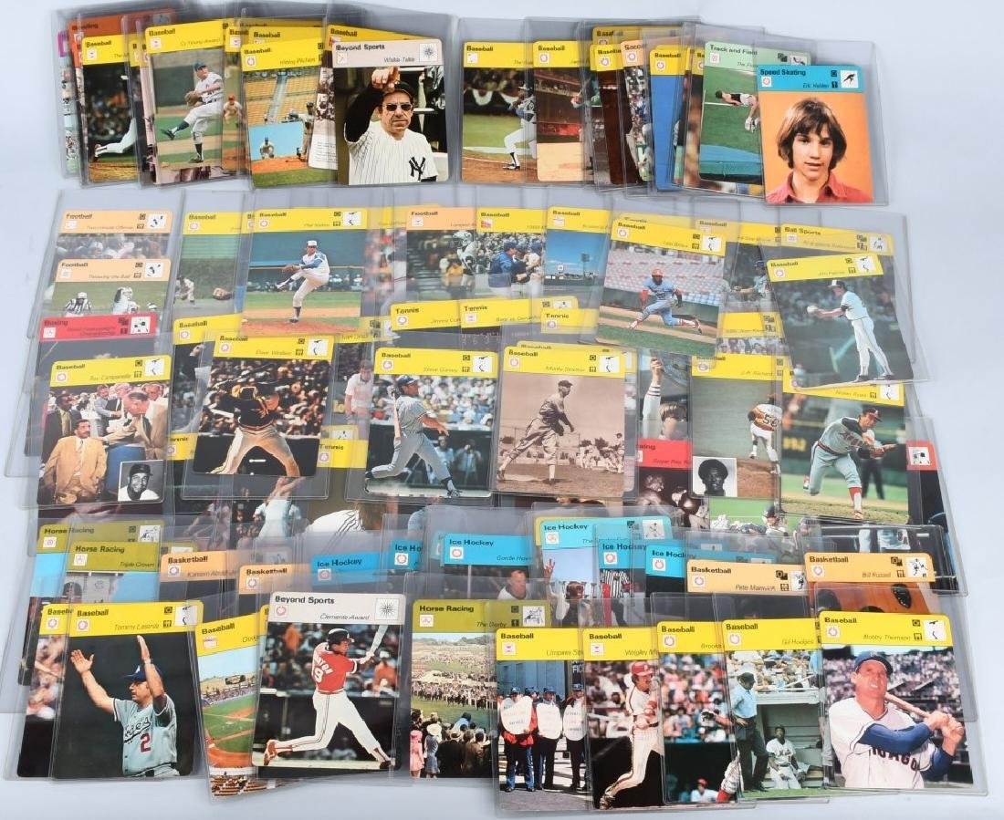 100- 1970s PHOTO FOCUS SPORTS CARDS