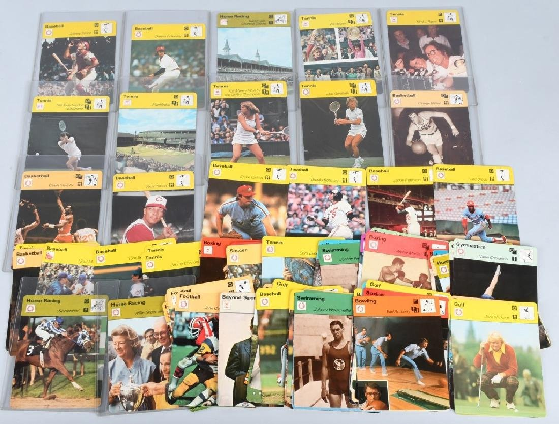 85- 1970s PHOTO FOCUS SPORTS CARDS