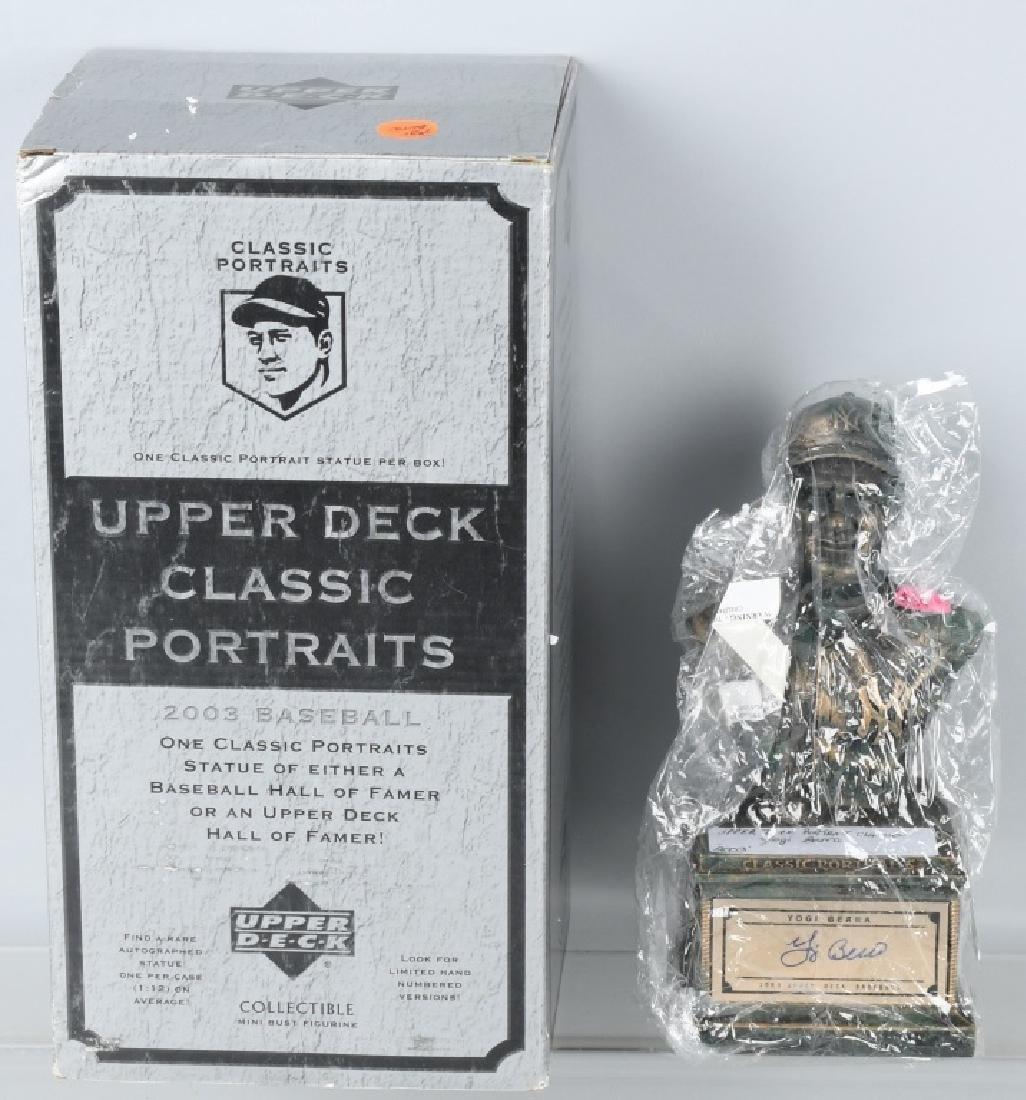 UPPER DECK CLASSIC PORTRAIT BUSTS YOGI BERRA MIB