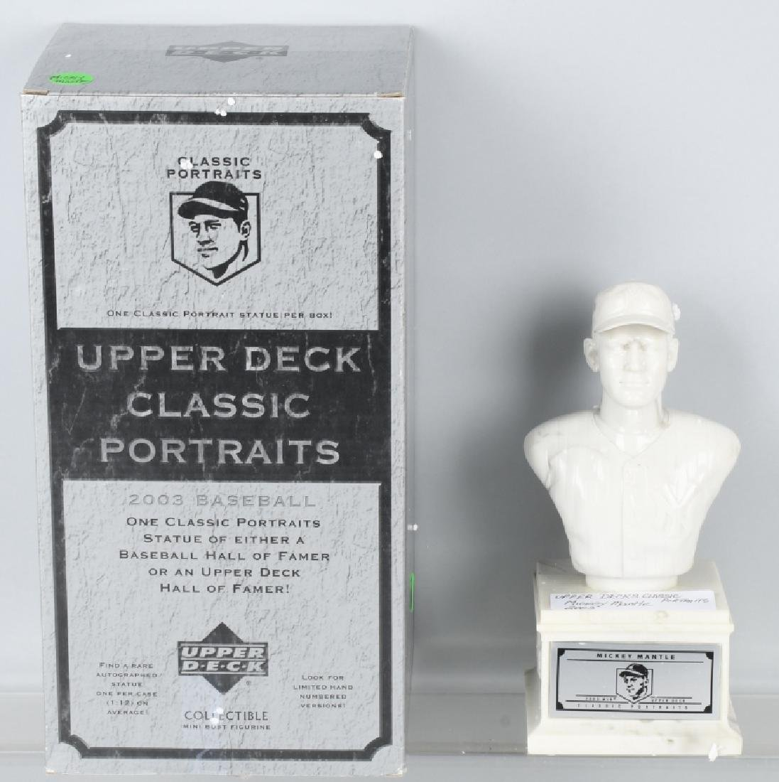 UPPER DECK CLASSIC PORTRAIT BUSTS MICKEY MANTLE