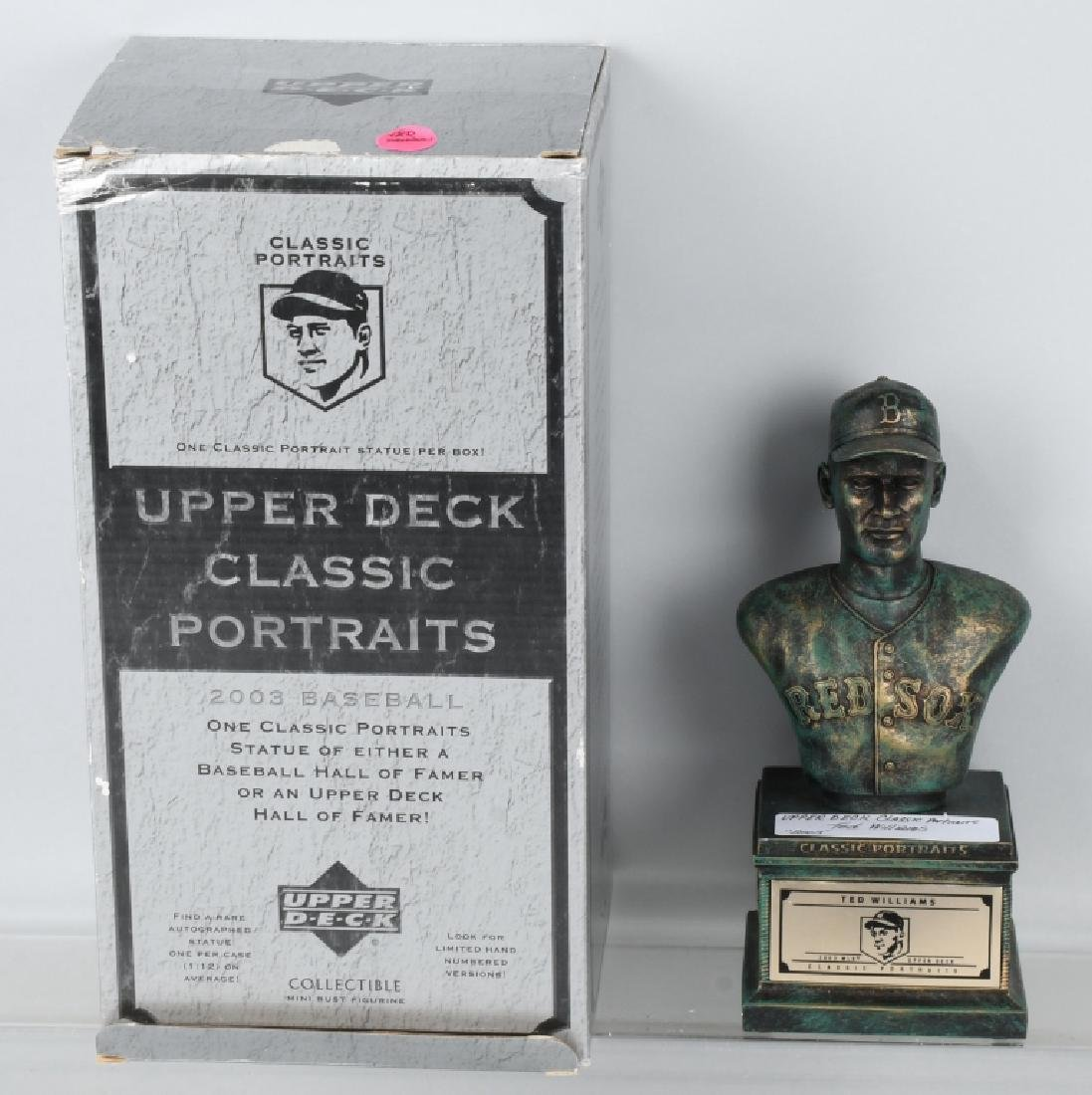UPPER DECK CLASSIC PORTRAIT BUSTS TED WILLIAMS