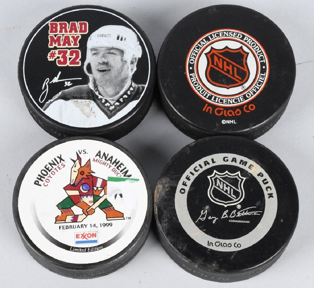15- SOUVENIR HOCKEY PUCKS - 2