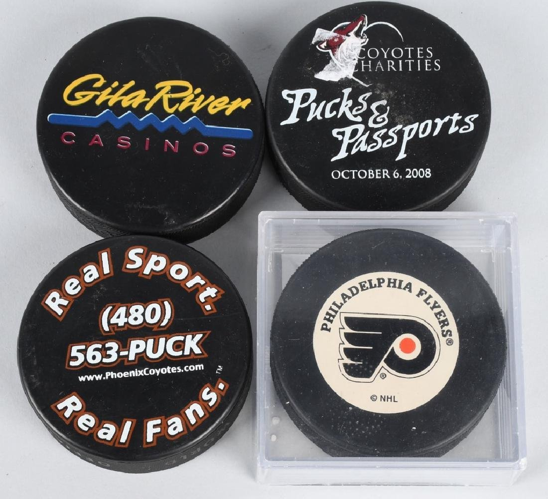 15- SOUVENIR HOCKEY PUCKS - 3