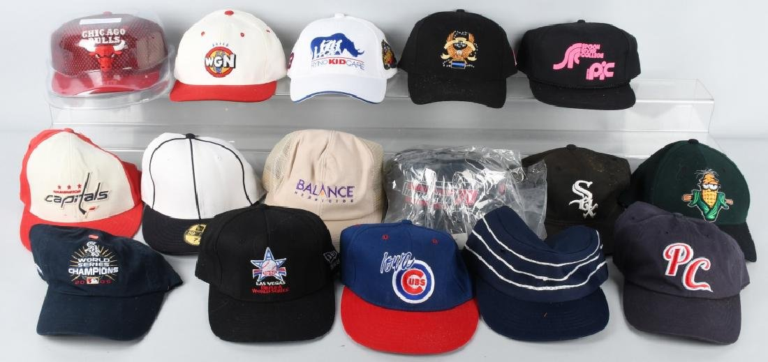 30- SPORTS & MORE BASEBALL CAPS