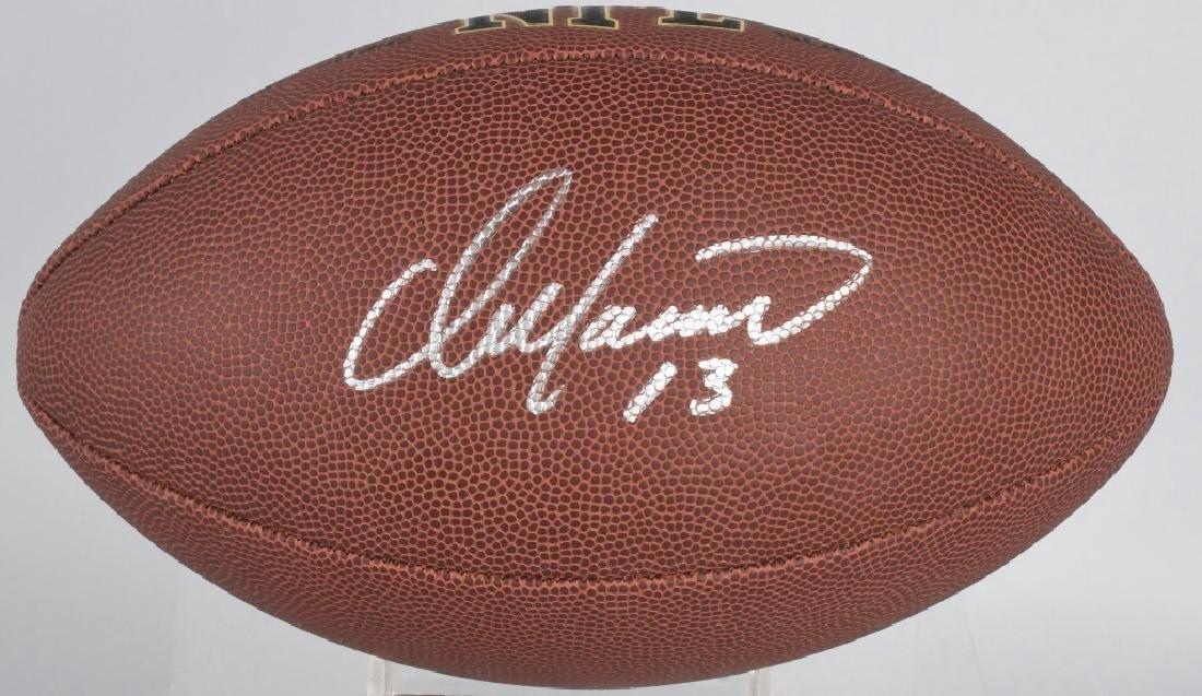 DOLPHINS DAN MARINO AUTOGRAPHED NFL FOOTBALL COA