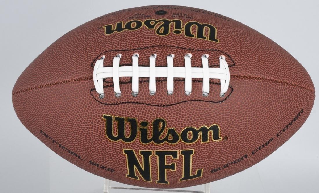 DOLPHINS DAN MARINO AUTOGRAPHED NFL FOOTBALL COA - 2