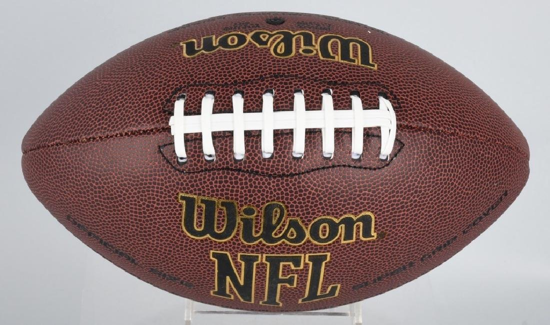 PACKERS JORDY NELSON AUTOGRAPHED NFL FOOTBALL COA - 2