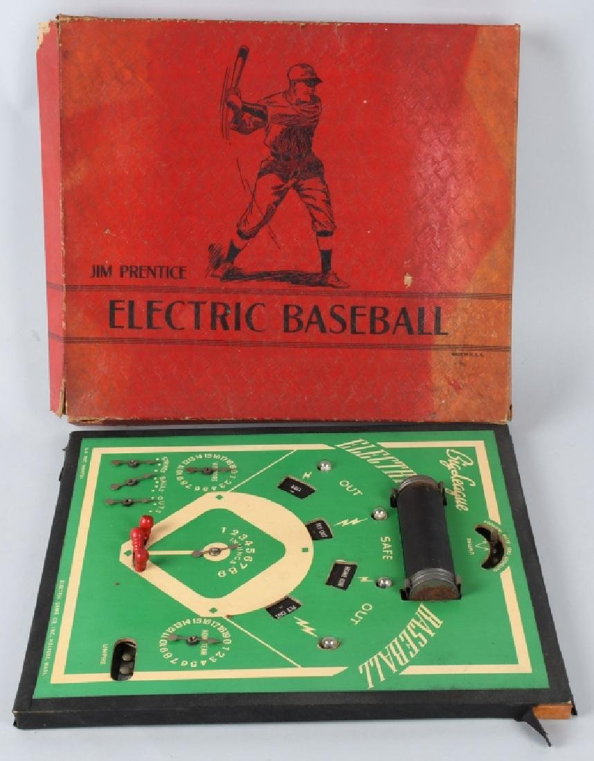 JIM PRENTICE ELECTRIC BASEBALL GAME