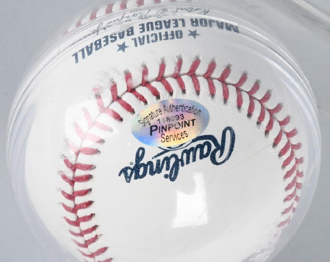 GIANCARLO STANTON AUTOGRAPHED HR DERBY BASEBALL - 3
