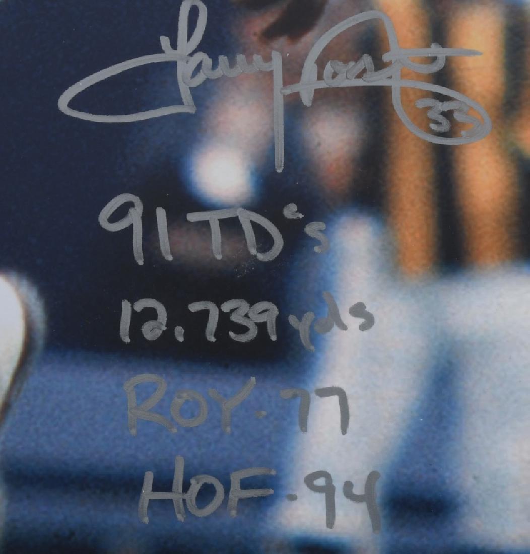 "COWBOYS TONY DORSETT AUTOGRAPHED 20""X16"" PICTURE - 2"