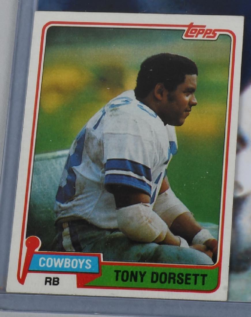 "COWBOYS TONY DORSETT AUTOGRAPHED 20""X16"" PICTURE - 3"